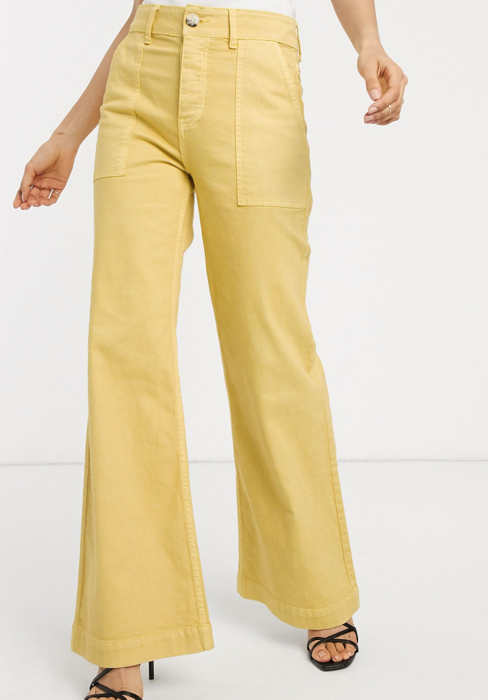 Rachel Antonoff's mike wide-legged jeans
