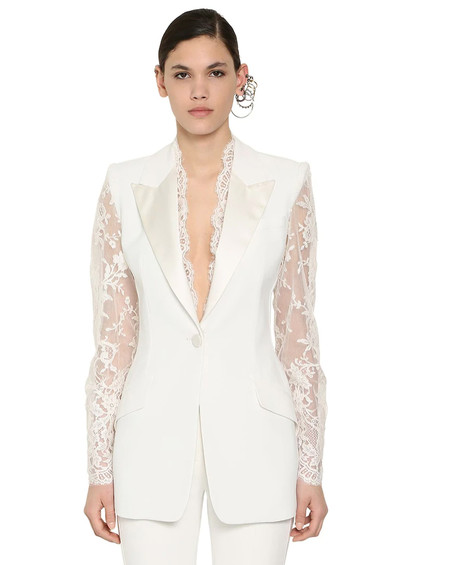 Alexander Mcqueen Copy Bridal Jacket