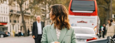 Mint green is once again the star colour of street style this spring-summer 2020