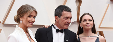 Antonio Banderas, Nicole Kimpel and Stella Banderas shine on the red carpet at the 2020 Oscars