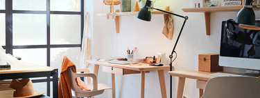 Desks for small spaces: 23 ideas to build your work corner