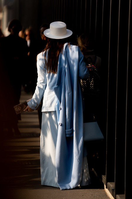street style like combining a hat