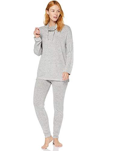 IRIS & LILLY - One piece pyjamas - for women grey 20 (Manufacturer Size:3XL)