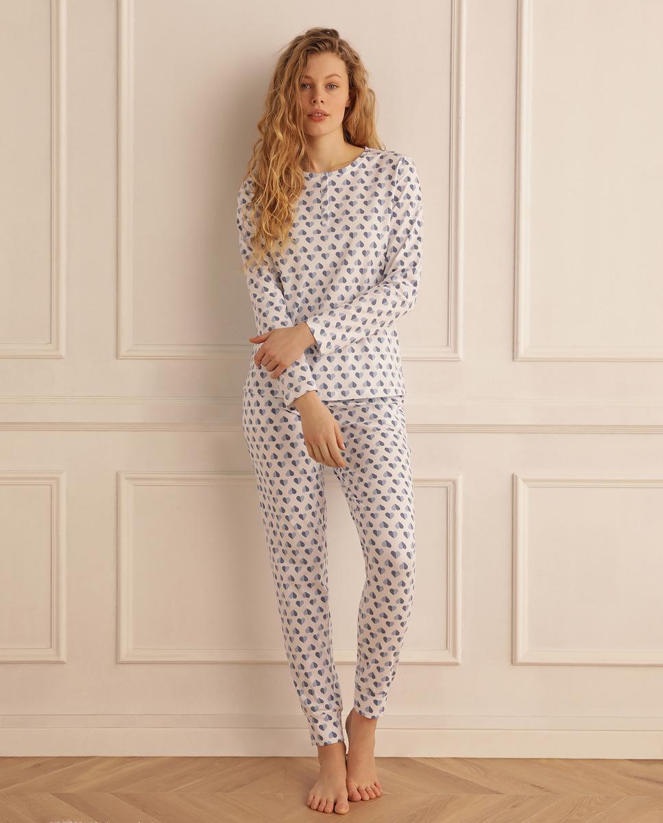 Complete women's Summer Memories hearts pajamas