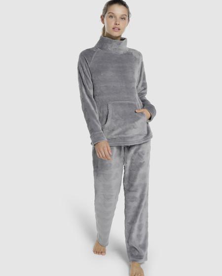 Complete women's pyjamas in grey