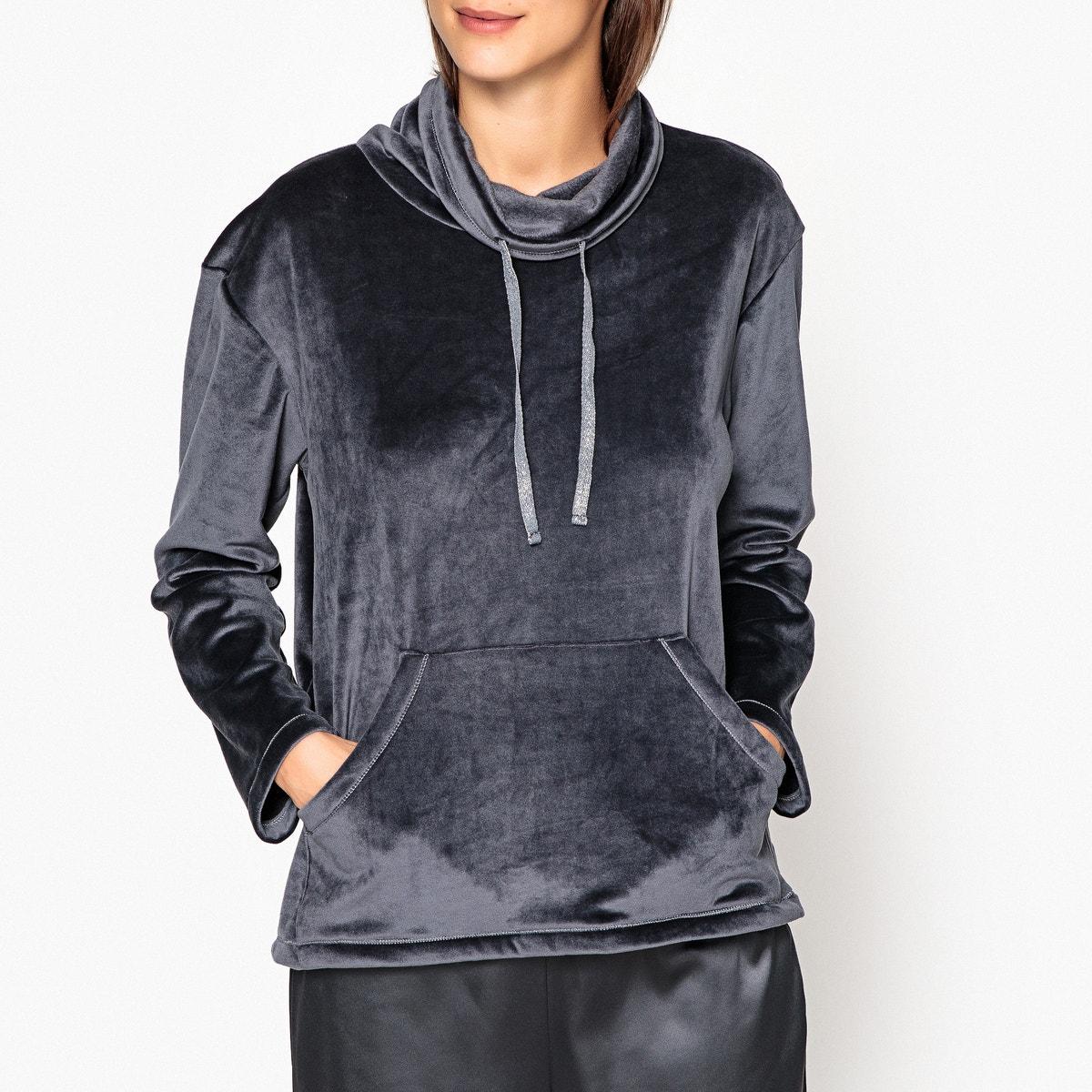 Indoor sweatshirt, micro-polar