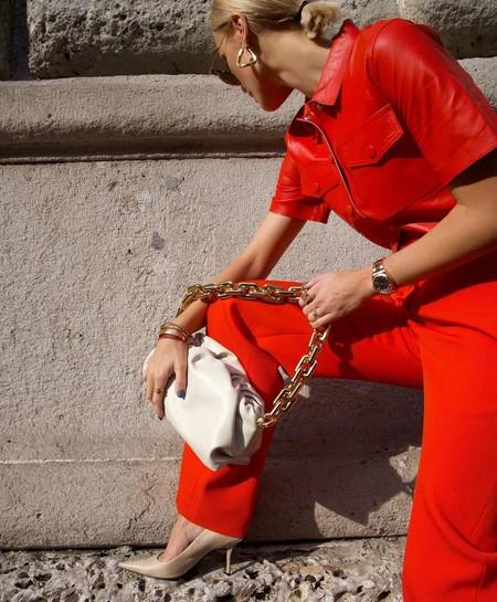 Bottega Veneta Chain Pouch 04