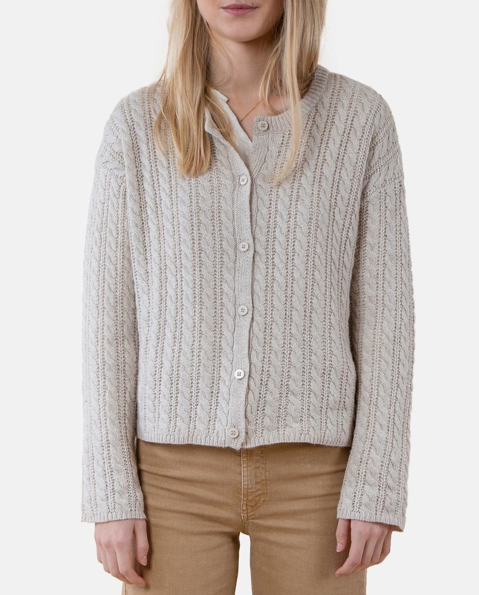 Brownie's nude eight cardigan