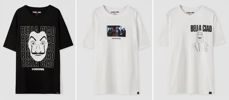 Pull Bear House Paper T-shirts 04