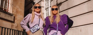 Lavender triumphs in street style and these garments are ideal for adding to the key trend this spring