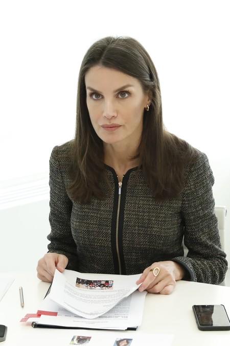 Queen Letizia Tweed Jacket 2