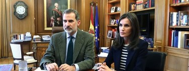First appearance of Doña Letizia after her confinement: this is what she looked like