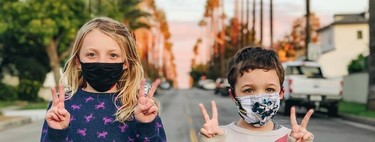 The last detail of Inditex with its employees: children's masks to protect children on their first trip to the street