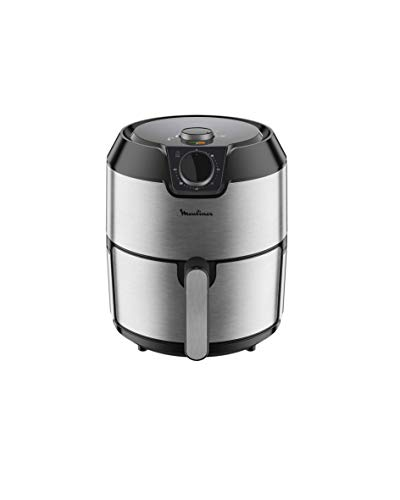 Moulinex - Healthy Fryer 1500 W, 4 cooking modes, capacity 4.2 L, temperature adjustable between 80 and 200 ºC - Dishwasher safe (Refurbished)