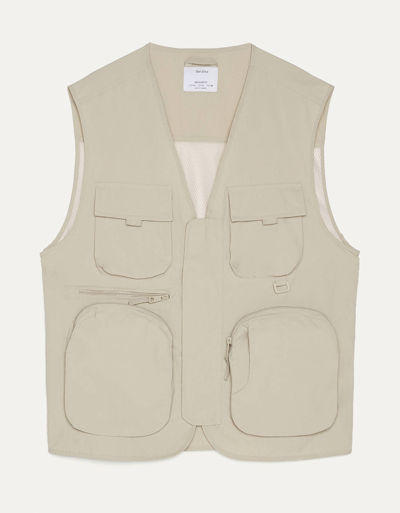 Nylon vest with mesh
