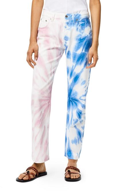 Loewe Tie Dye Jeans