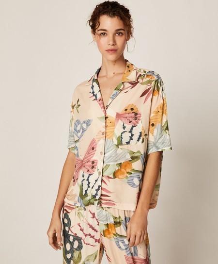 Pajama Shirts On The Street