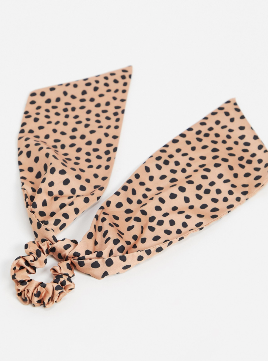 Polka-dotted headscarf by ASOS DESIGN
