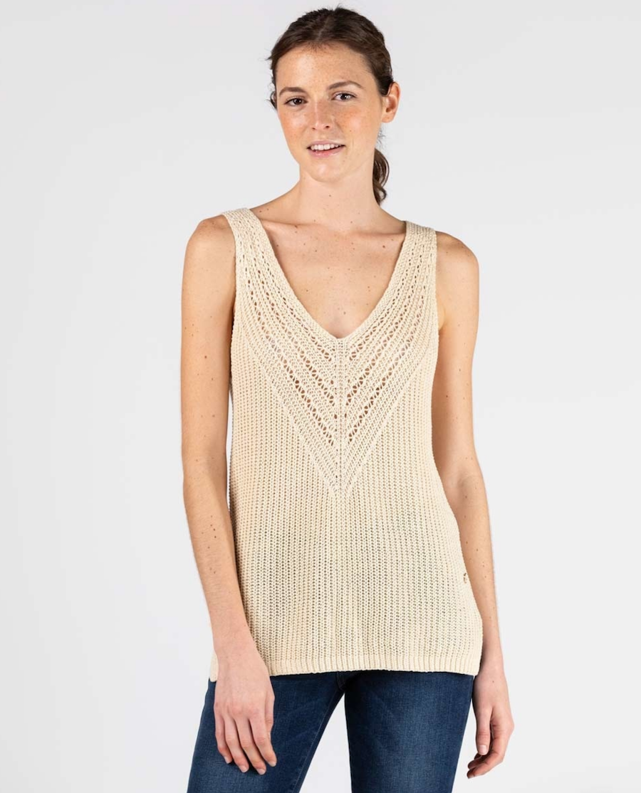Knitwear Women's Top with Straps