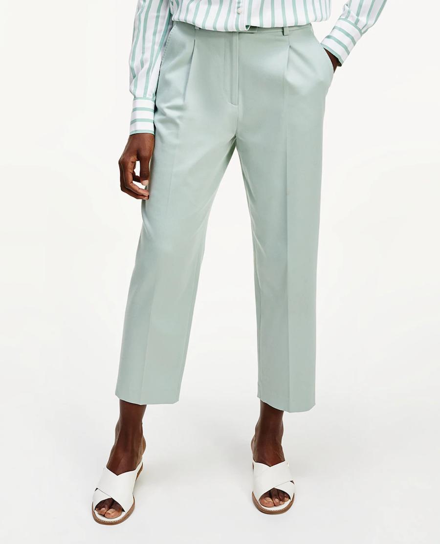 Women's long crop trousers