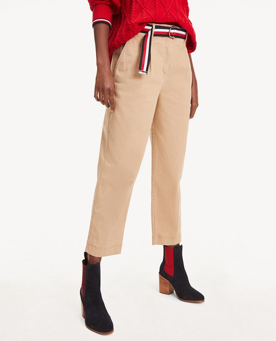 Chinese Women's Belt Pants