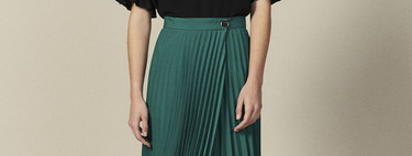 17 pleated skirts ideal for wearing all summer and combining with all types of footwear