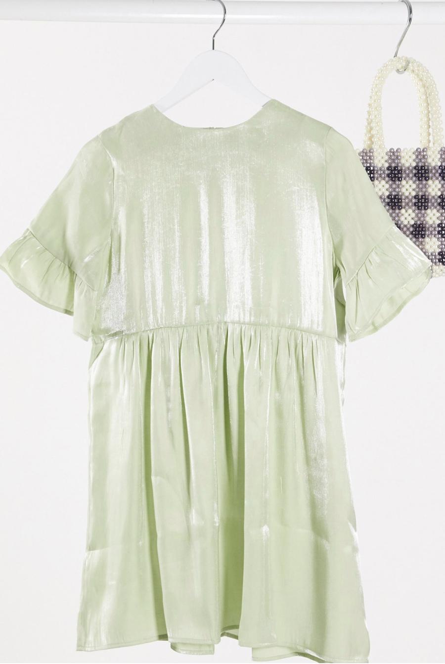 Lola May's wide dress