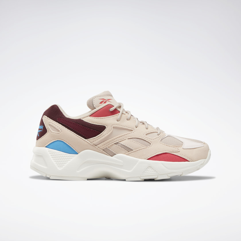 Multicolored sports shoes