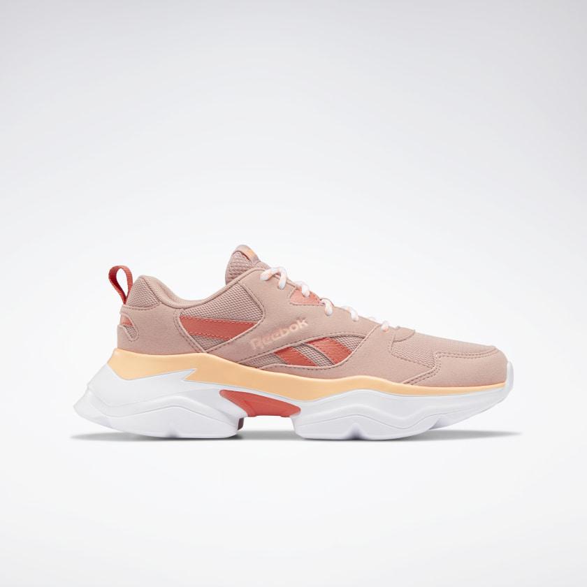 Pink combination sneakers