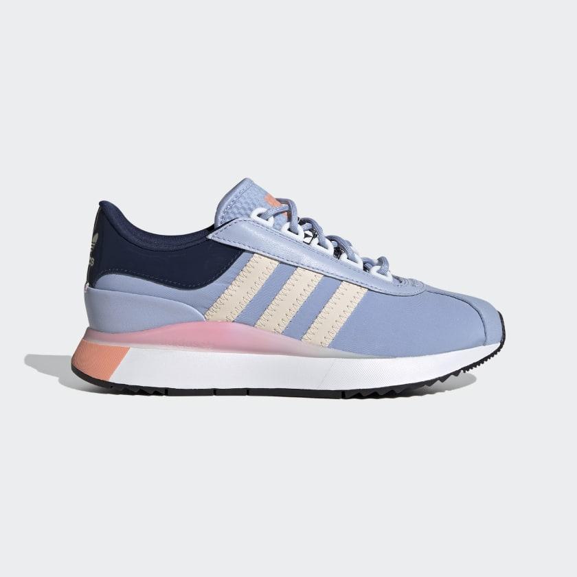 Sky blue shoes