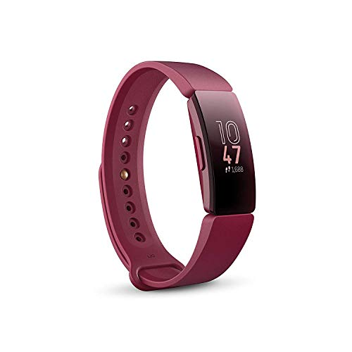 Fitbit Inspire, Health and Fitness Bracelet, Wine
