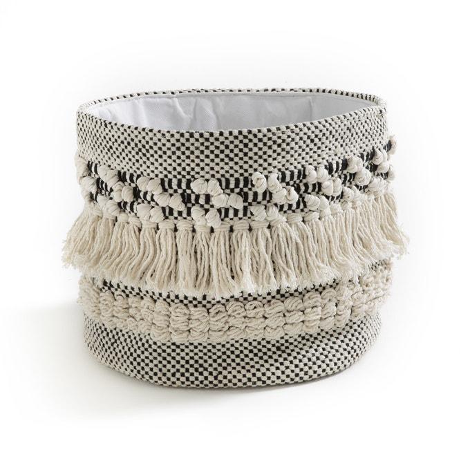 Kilima-style cotton basket, LIKLIM