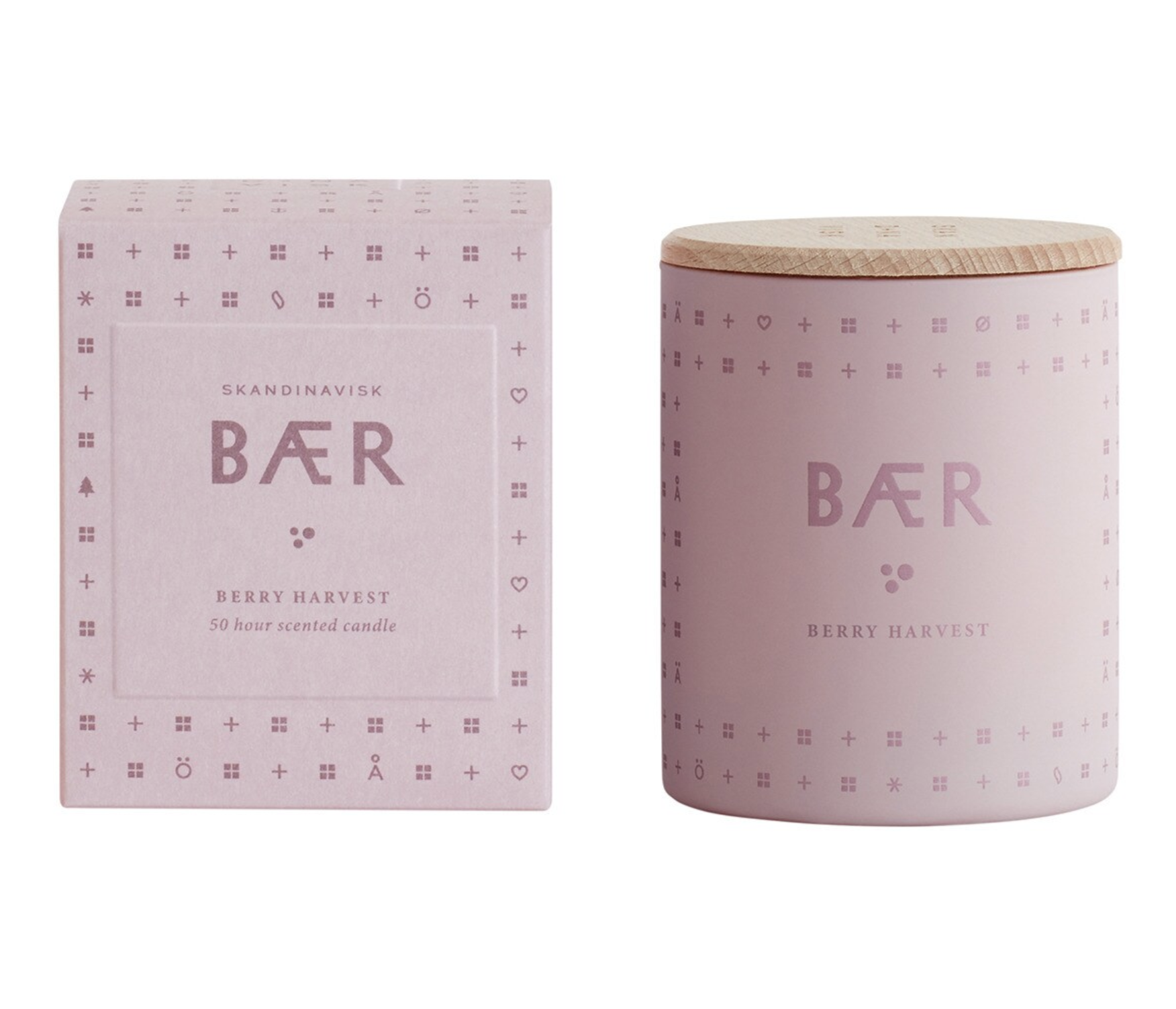 Baer Skandinavisk Scented Candle Glass