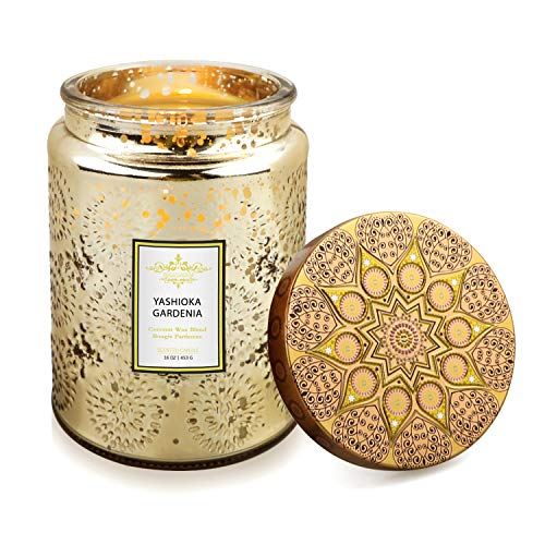YMing scented candle jar for women