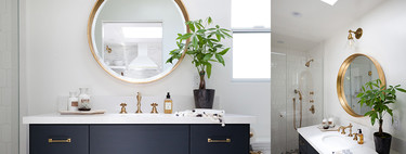 11 amazing bathrooms with gold details