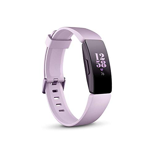 Fitbit Inspire HR, Heart Rate Health & Fitness Bracelet, Lilac