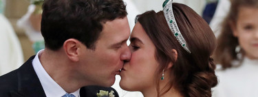 Princess Eugenia of York and Jack Brooksbank are now husband and wife. These are the best images of the bride and groom