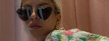 We return to childhood with these heart-shaped sunglasses that promise to be the center of attention for our styles