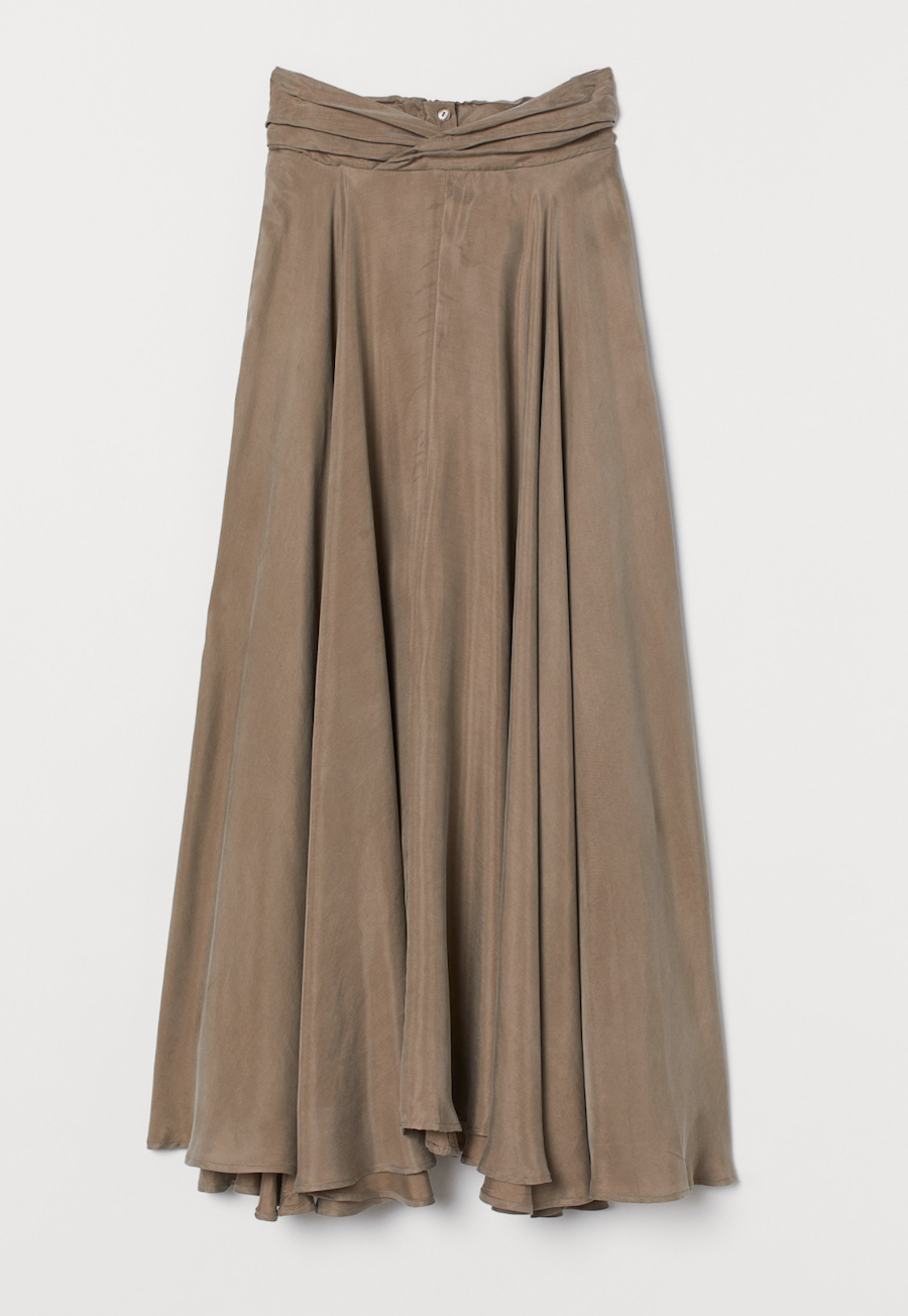 Round cut skirt