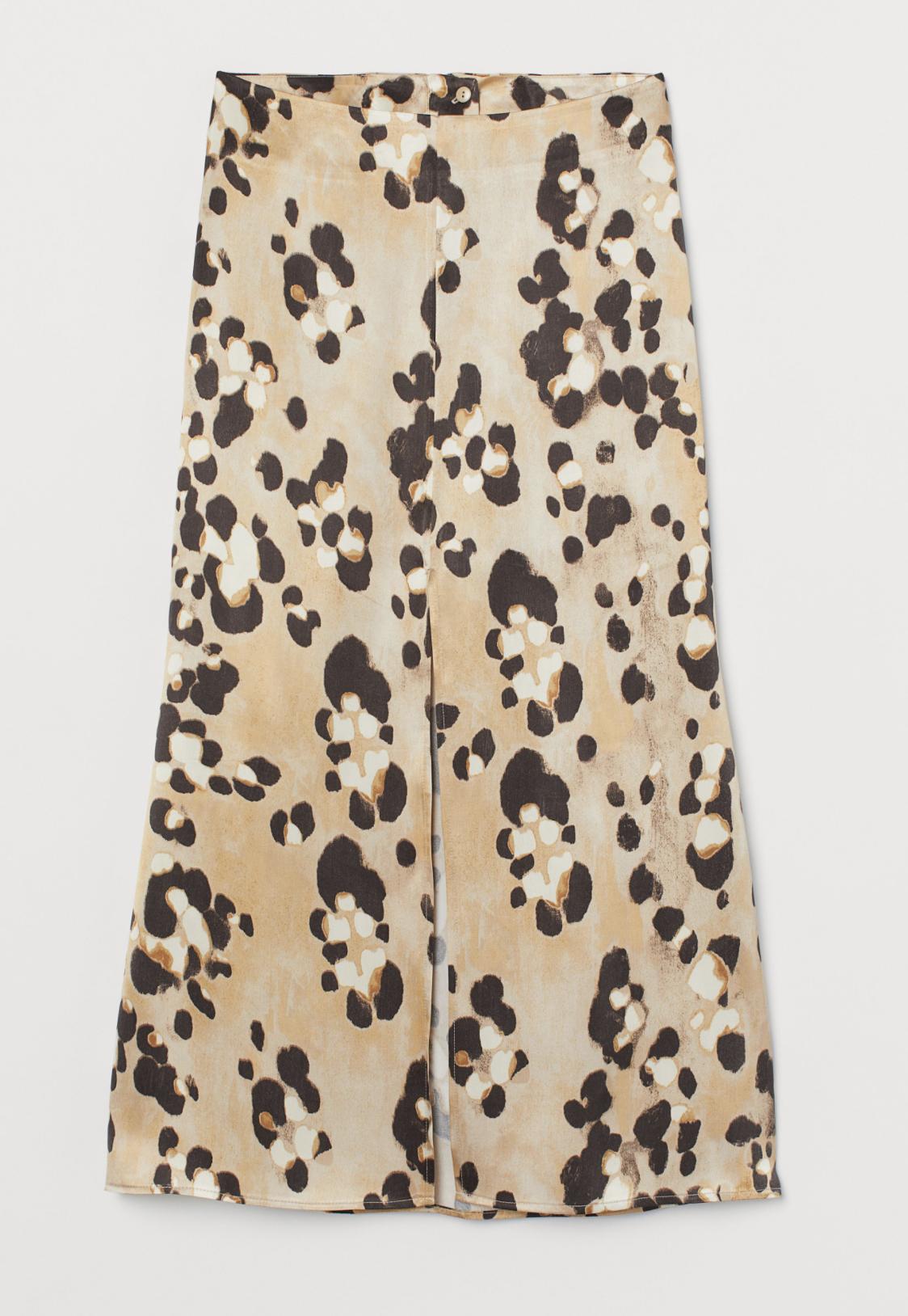Lyocell blend skirt