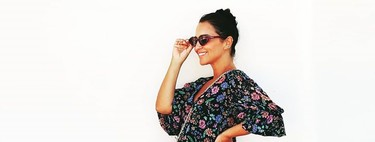 Paula Echevarría has the most comfortable flowered jumpsuit of the summer and is on sale