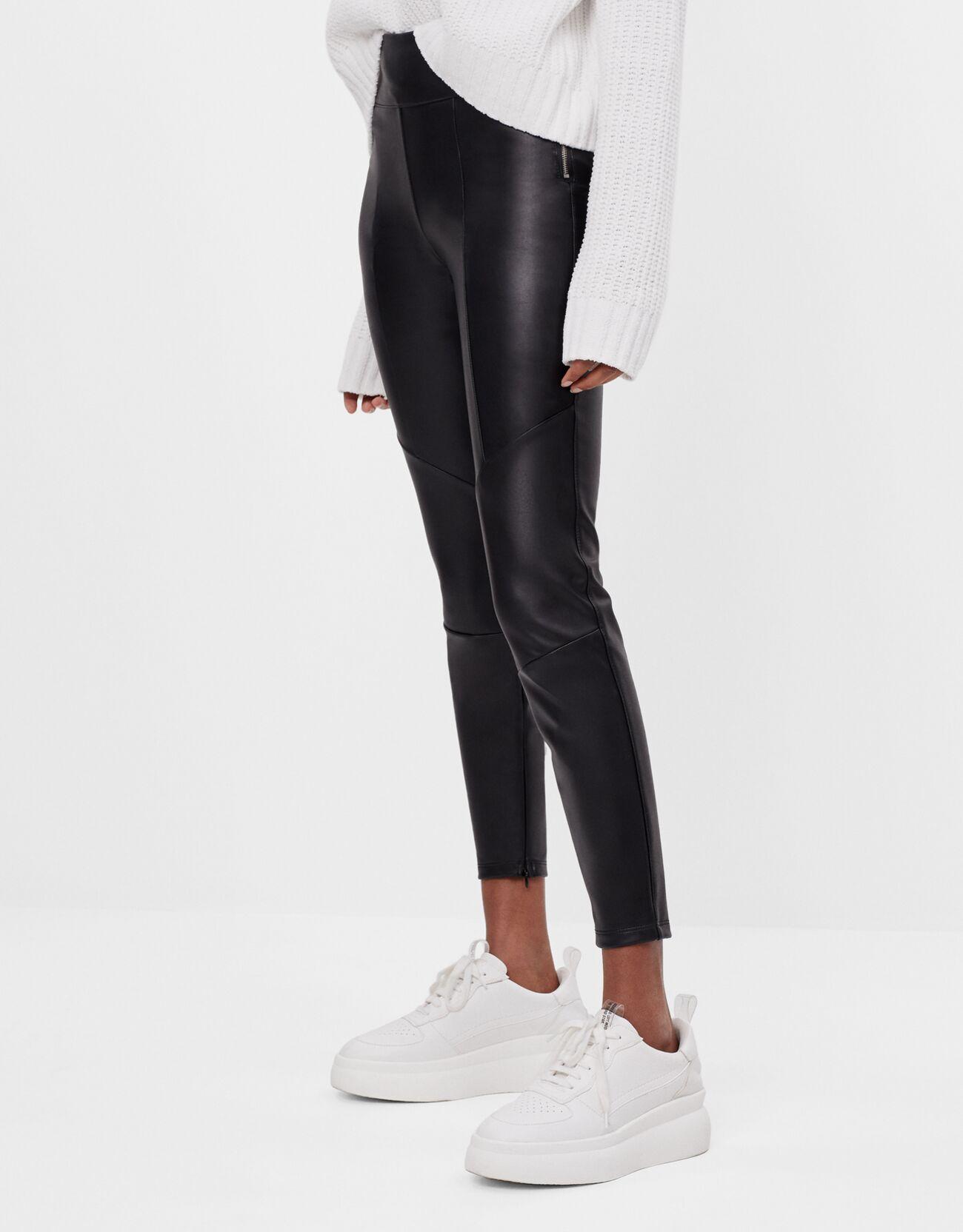 Leggings with skin effect