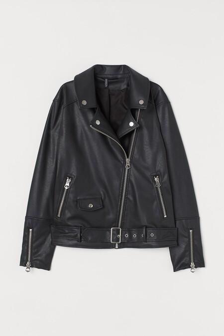 How to Combine Oversize Leather Biker