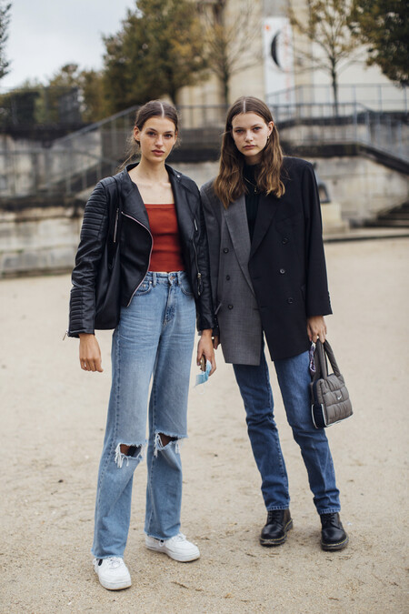 how to combine oversize leather bikers