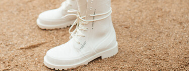 The white boots continue with their conquest in the world of fashion, and intend to sweep the street style
