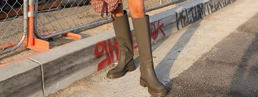 When the street wears it, it goes viral: Zara's new (water) boots have everything to be the star product of the season