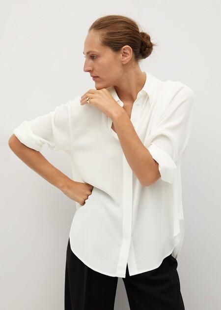 Oversize textured shirt