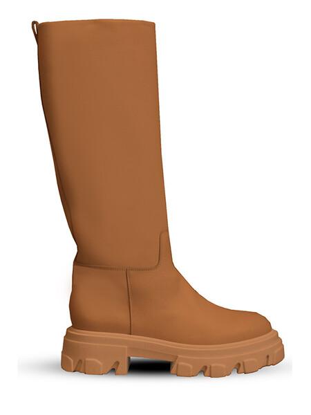 Combat Boot Cognac