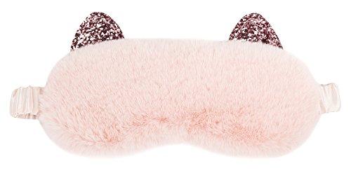 Vivid Hue - Women's sleep mask, cat design