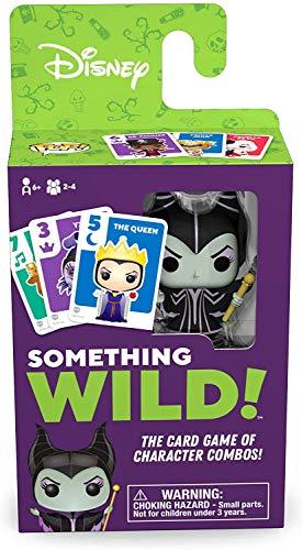 Board Games- Something Wild-Villains Disney Signature Game, Multicolor (Funko 51872)